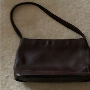 Coach Bag Brown Leather